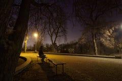 einsamkeit Stockfoto
