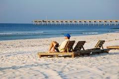 Einsamkeit auf der Küste lizenzfreie stockfotografie