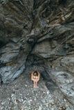 Einsamkeit in den Felsen Lizenzfreie Stockfotos