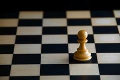 Einsamkeit. Schach. Lizenzfreie Stockfotografie