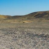 Einsamkeit und Leere der Wüste Lizenzfreie Stockfotografie