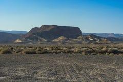 Einsamkeit und Leere der Wüste Lizenzfreies Stockfoto