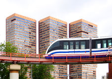 Einschienenbahn Stockfotografie
