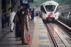 Einschienenbahn in Kuala Lumpur Lizenzfreie Stockbilder