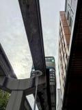 Einschienenbahn in Seattle lizenzfreie stockbilder