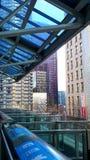Einschienenbahn Seattles ALWEG westlake Station Lizenzfreie Stockbilder
