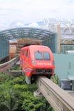 Einschienenbahn in Sentosa-Insel Singapur lizenzfreie stockfotos