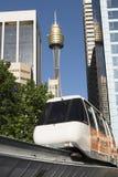 Einschienenbahn, Sydney Lizenzfreies Stockbild
