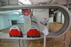 Einschienenbahnverkehrssystem Lizenzfreie Stockfotografie
