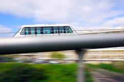 Einschienenbahnwagen stockbild