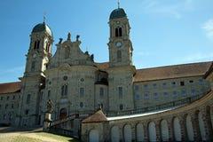 Einsiedeln Abbey. Abbey near Einsiedeln in switzerland Stock Photo