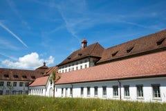 Einsiedeln Abbey. Abbey near Einsiedeln in switzerland Stock Images
