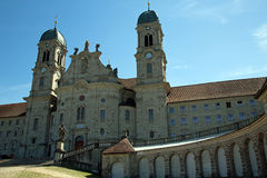 Einsiedeln-Abtei Stockfoto