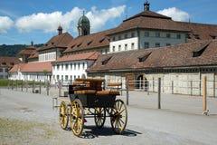Einsiedeln-Abtei Stockfotos