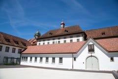 Einsiedeln-Abtei Lizenzfreies Stockfoto