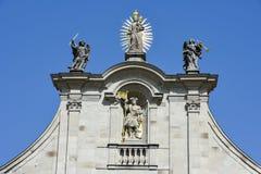 Einsiedeln opactwo na Szwajcaria fotografia royalty free