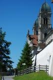 Einsiedelnabdij in Zwitserland Royalty-vrije Stock Afbeeldingen