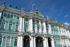 Einsiedlerei - berühmter russischer Grenzstein Stockfotos
