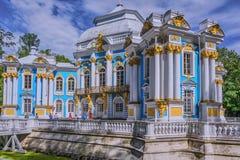 Einsiedlerei in Tsarskoe Selo der Alexander-Garten stockfoto