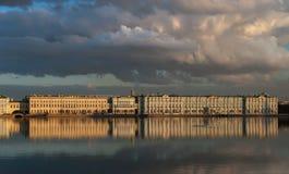 Einsiedlereimuseum in St Petersburg Lizenzfreie Stockfotos