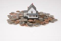 Einsparung für ein Haus Lizenzfreie Stockfotografie