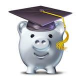 Einsparung für eine Ausbildung stock abbildung