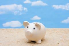 Einsparung für Ferien Lizenzfreies Stockbild
