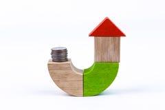 Einsparung für Haus Stockbilder