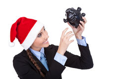 Einsparung für Weihnachten lizenzfreie stockfotografie