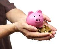 Einsparung für Ruhestandskonzept Lizenzfreie Stockbilder