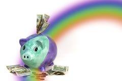 Einsparung-Geld und Planung Lizenzfreies Stockfoto