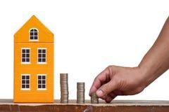 Einsparungen für Haus stockfotos