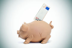 Einsparunggeld Lizenzfreies Stockbild