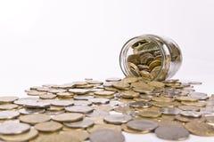 Einsparunggeld Lizenzfreie Stockfotos