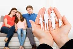 Einsparungs-Familien-Konzept Lizenzfreies Stockbild