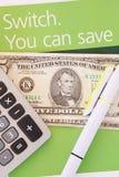 Einsparungs-Konzept Lizenzfreies Stockfoto
