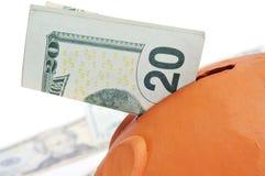 Einsparungsgeld Lizenzfreies Stockbild