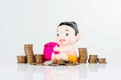 Einsparungsgelder stockfotografie