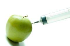 Einspritzen der Vitamine Stockfotos