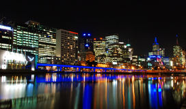 Einst in Melbourne Stockfoto