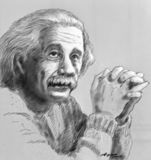 Einstein royalty illustrazione gratis