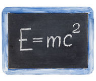 Einstein equation Stock Image