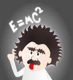 Einstein-Karikatur Lizenzfreie Stockfotografie