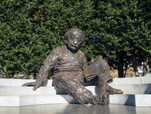 Einstein minnesmärke, Washington DC fotografering för bildbyråer