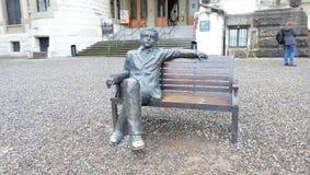 Einstein på Bern Historical Museum, Schweiz Royaltyfri Foto