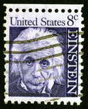 Einstein pieczęć usa 8 c Fotografia Stock