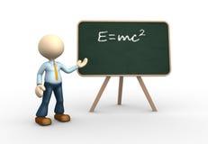 Einstein's theory. Stock Photo
