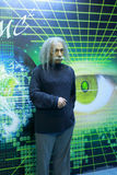 Einstein's wax figure Royalty Free Stock Image