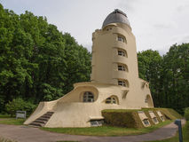 Einstein Turm in Potsdam Stockfotografie