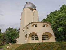 Einstein Turm in Potsdam Lizenzfreies Stockfoto